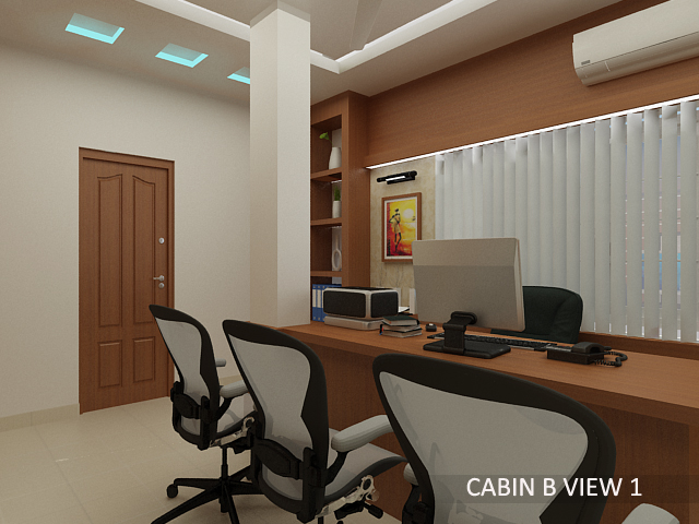 Attractive Office Cabin Interior Design Ideas