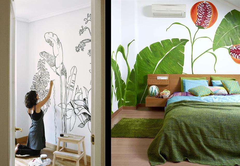 fresque murale papier peint. Black Bedroom Furniture Sets. Home Design Ideas