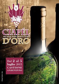 Ciapél d'oro 2 - 3 - 4 - 5 Luglio Castione Andevenno  2016