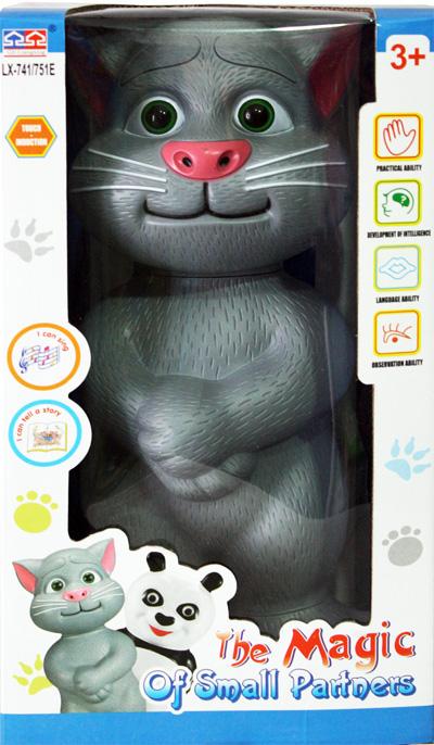 Mainan Kucing Talking Tom Cat Bisa Bernyanyi dan Berdongeng Bhs.Indonesia