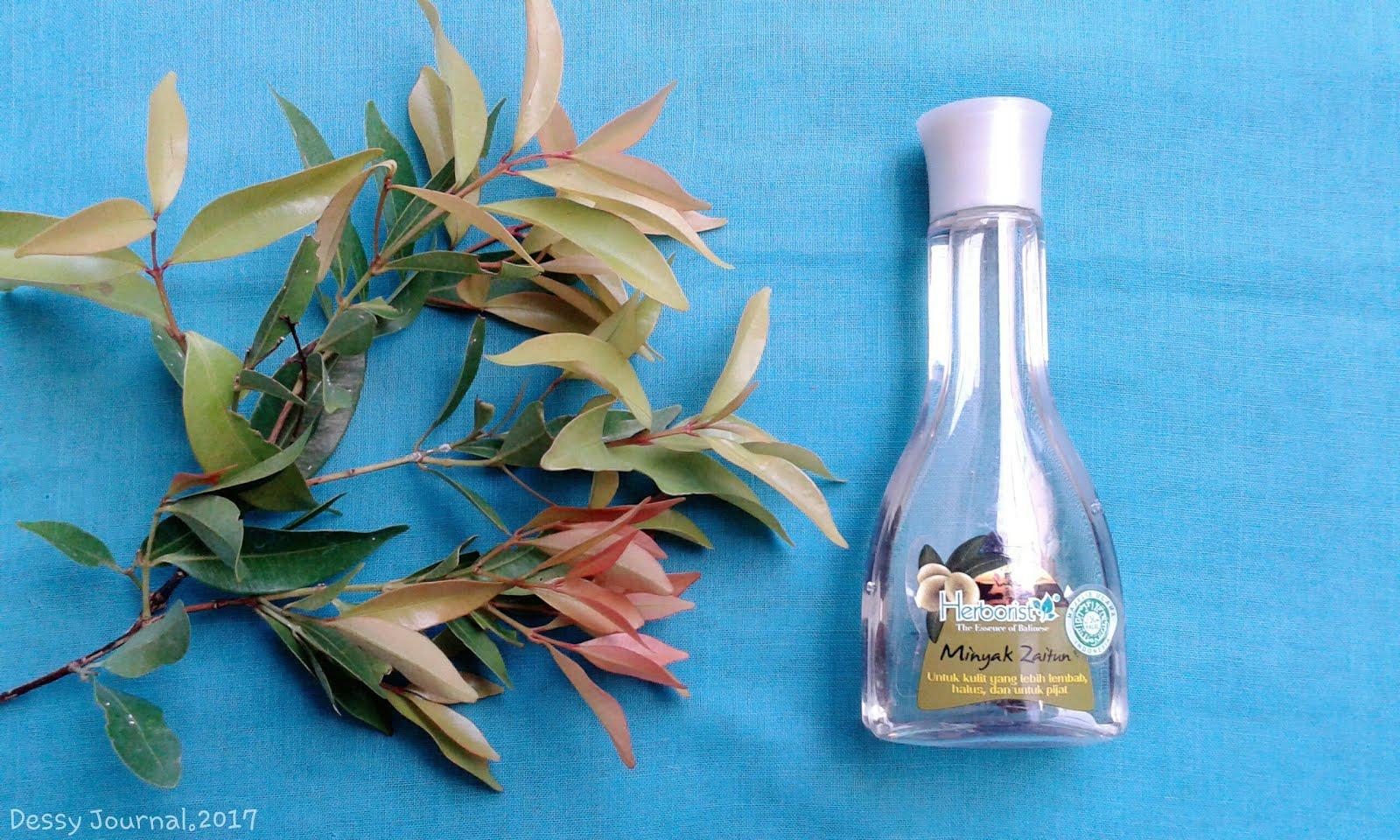 Dessy Journal Review Herborist Minyak Zaitun