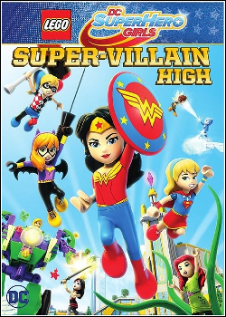 506734 - Filme Lego DC Super Hero Girls Escola de Super Vilãs - Dublado Legendado