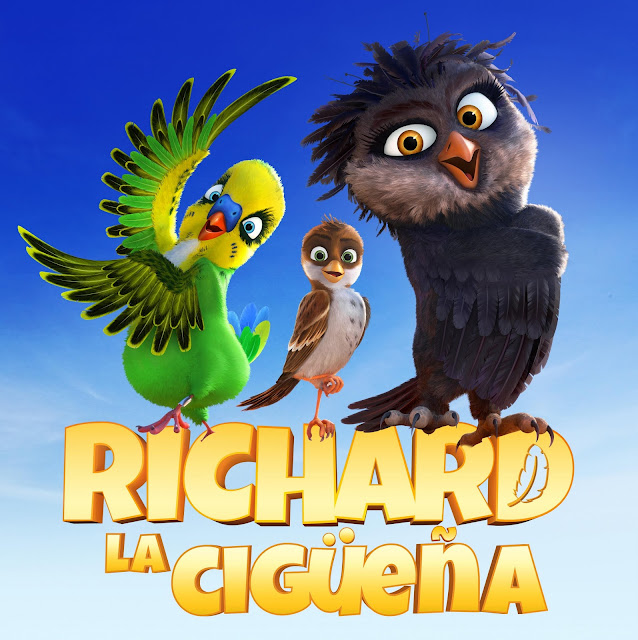 Cartel Richard La Cigüeña