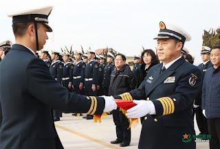 Entrega de la corbeta Wuhai del tipo 056A (numeral 540)