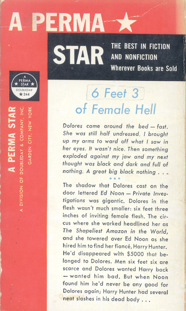 The Tall Dolores Perma Star Back Cover