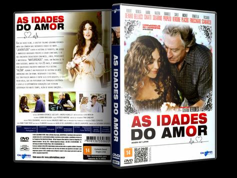Capa DVD As Idades do Amor (Oficial)