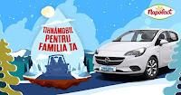 Castiga un autoturism marca Opel Corsa