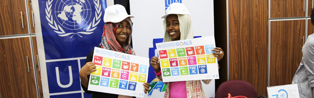Sudanese Youth advocate for Sustainable Development Goals