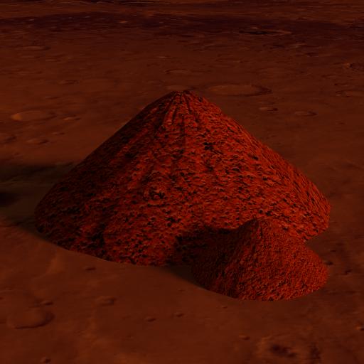 Martian Agora Building Wind Turbines And Solar Panels