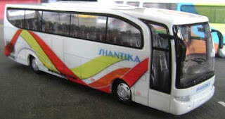 modifikasi bus sinar jaya modifikasi bus 3/4