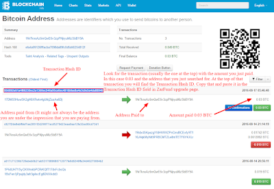Get transactional hash ID
