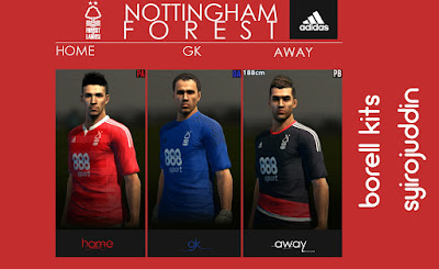 Nottingham forest 2016 | borell kits