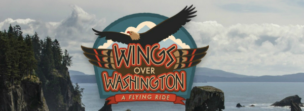 "Review of the ""Wings Over Washington"" ride in Seattle."