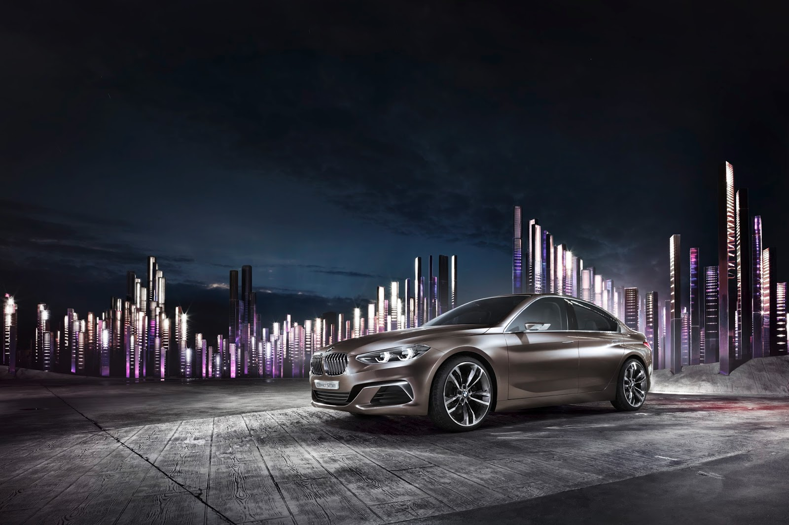 P90204807 highRes BMW Concept Compact sedan ή μήπως σειρά 1 sedan;
