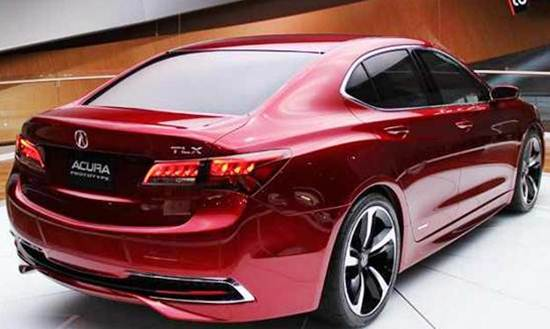 White Area 2019 Acura Tlx Type S Review