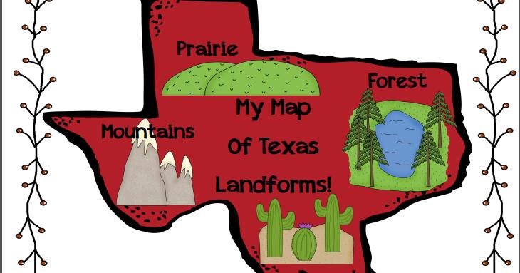 Landform Map Of Texas.2 Crazy Texas Teachers Some Texas Love
