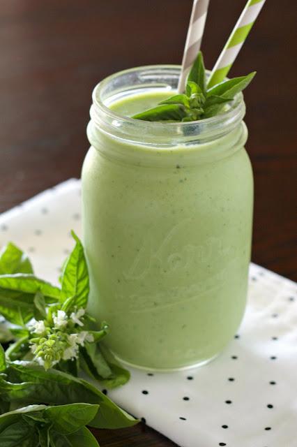 honeydew basil smoothie