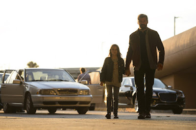 Dafne Keen and Hugh Jackman in Logan Movie (5)