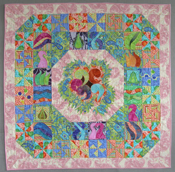 Nesting wall quilt photo