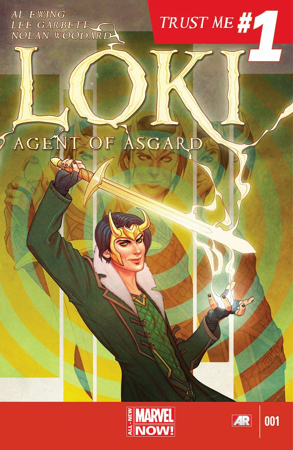 Loki v3 Agent of Asgard 001 (2014) …………… | Viewcomic reading