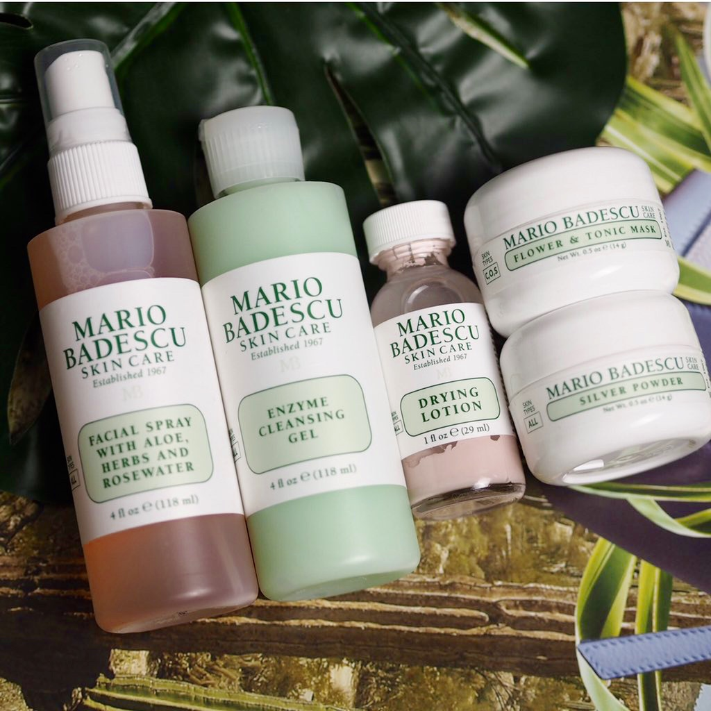 Mario Badescu Skincare Set, drying lotion,