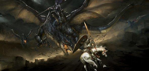 Ting Xu artstation arte ilustrações fantasia medieval sombria games