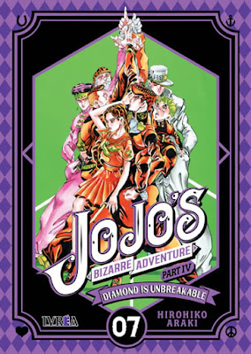 Reseña de JoJo's Bizarre Adventure Part IV: Diamond Is Unbreakable vols 6, 7 y 8 de Hirohiko Araki - Ivréa