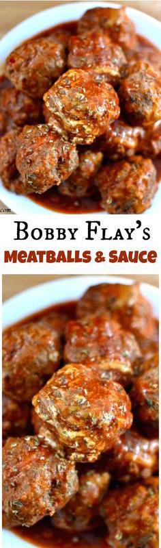 Bobby Flay's Meatball Recipe
