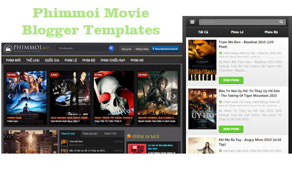 Phimmoi Movie Blogger Templates - Kaizentemplate - Best Awesome ...