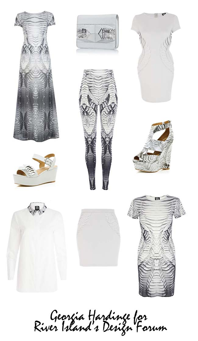 Georgia Hardinge For River Island Launches Today