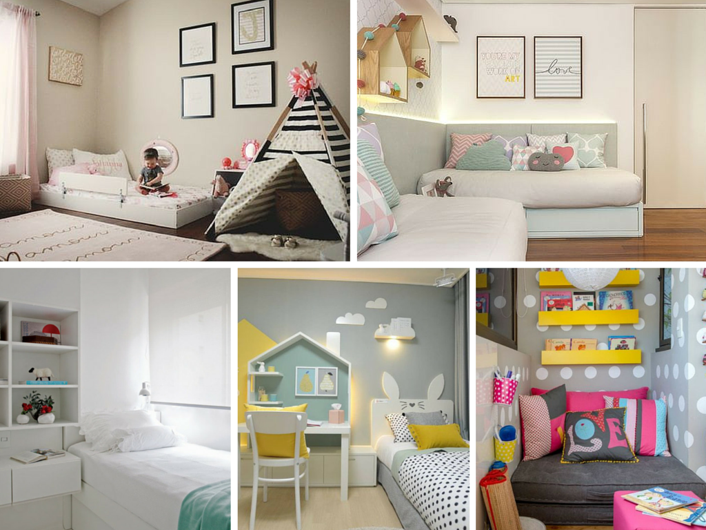 Deliciously at Home Decor Organization Lifestyle  ~ Quarto Pequeno Infantil