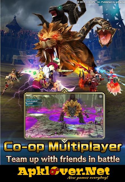 Dragon Project MOD APK high damage