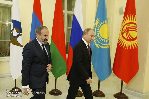 Armenia asume la presidencia en UEE