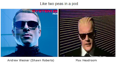 Andrew Wesker Max Headroom lookalike