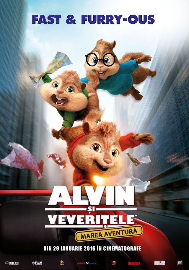 Alvin and the Chipmunks: The Road Chip (Film 2015) - Alvin şi veveriţele: Marea aventură