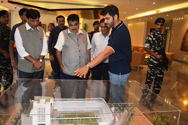 Union Minister Shri Nitin Gadkari visits The Arena by TransStadia to experience the state-of-the-art stadium