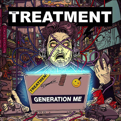 The Treatment - Generation Me - cover album  - 2016