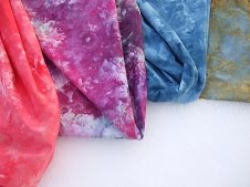 Snow Dyeing Fabric Tutorial