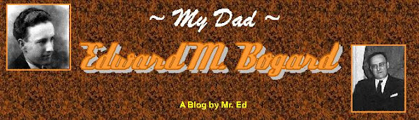 Click this link for my blog about my father ~