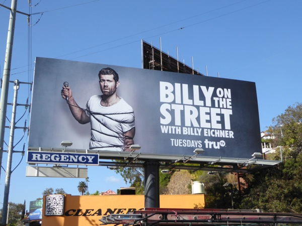 Billy on the Street season 5 billboard