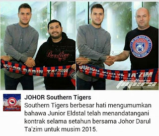 Junior Eldstal JDT