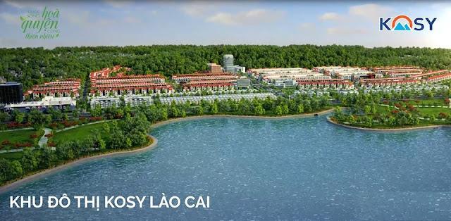 Hồ điều hòa ngay trước dự án KOSY Lào Cai