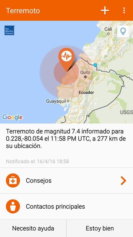 INFORMATIVO DEL GUAICO: Fuerte temblor en Sandoná
