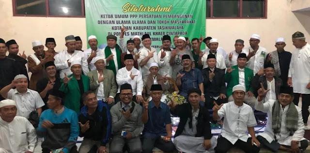 KH. Yusuf Faqih Doakan Ketum PPP Dan Kemenangan Prabowo-Sandi