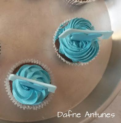 cupcake Elsa Frozen