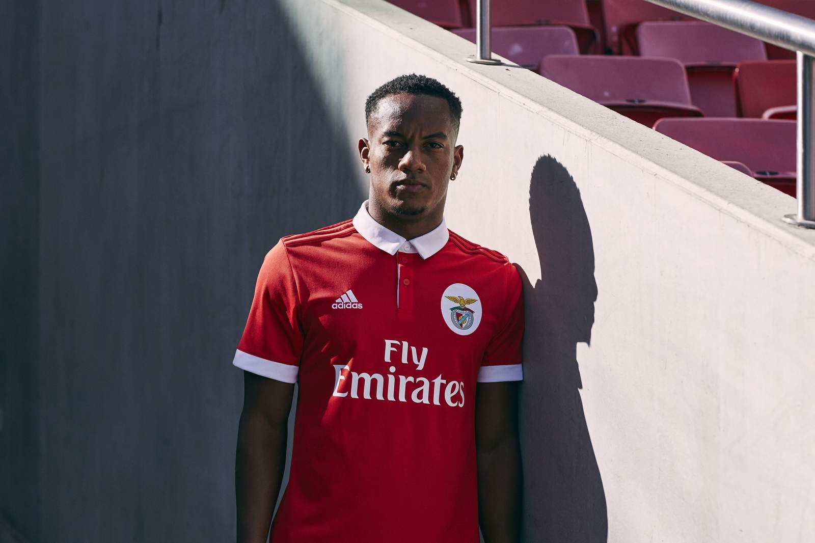 new york 41dde 58f71 Benfica 17-18 Home Kit Revealed - Footy Headlines