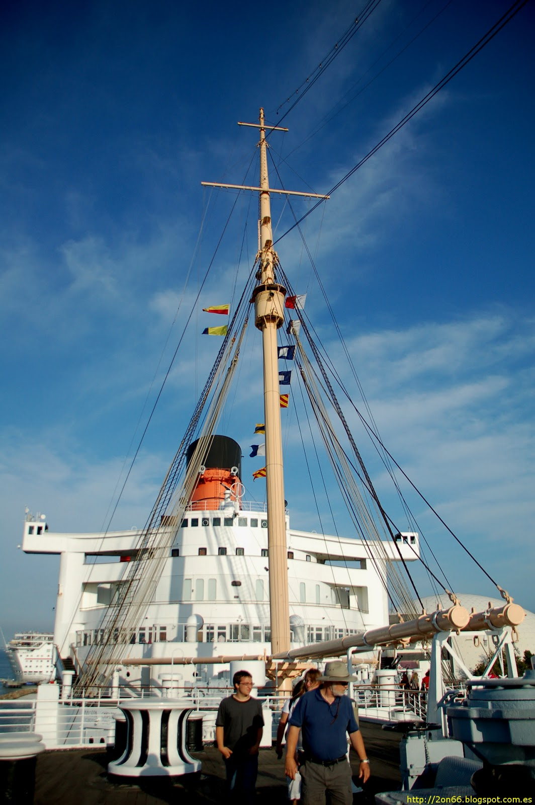 Viaje Ruta 66: Visitando el RMS Queen Mary