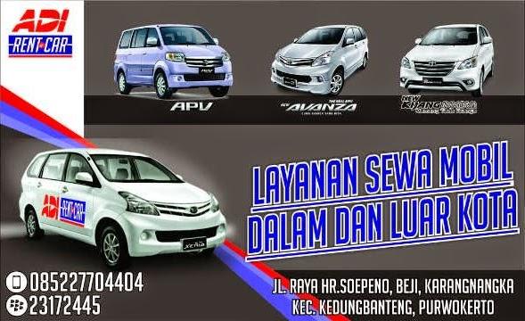 Rental Mobil Purwokerto Murah