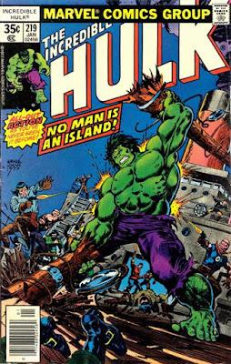 Incredible Hulk #219
