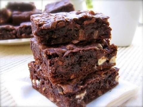 Weight Watchers Skinny Chocolate Coconut Cake Mix Bar Cookies